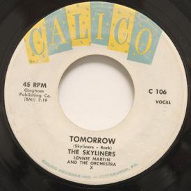 Skyliners - This I Swear/Tomorrow