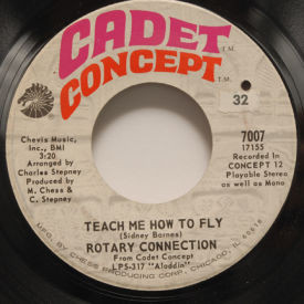 Rotary Connection - Teach Me How To Fly/Paper Castle