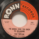 Ted Taylor - Long Ago/I'm Gonna Send You Back To Oklahoma