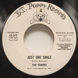 Tokens - Just One Smile/The Bells Of St. Mary