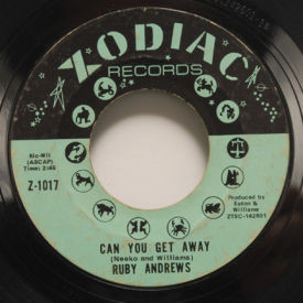 Ruby Andrews - CAn You Get Away/Everybody Saw You