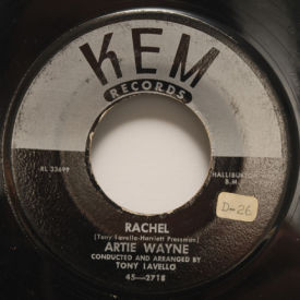 Artie Wayne - Rachel/Tonight Or Never