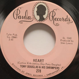 Tony Douglas & His Shrimpers - Heart/Keep Your Little Eyes On Me