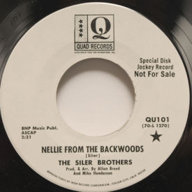 Siler Brothers - Nellie From The Backwoods/You Know You're Right