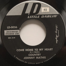 Country Johnny Mathis - Come Home To My Heart