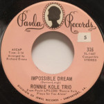 Ronnie Kole Trio - Impossible Dream/San Antonio Rose