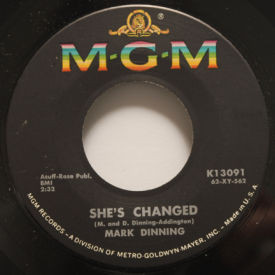 Mark Dinning - I Catch Myself Crying/She's Changed