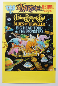 Allman Brothers Band/Blues Traveler/Big Head Todd and the Monsters - HORDE Festival 1994 (Poster)