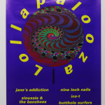 Jane's Addiction/Nine Inch Nails/Rollins Band/Living Coulour - Lollapalooza '91 (Poster)